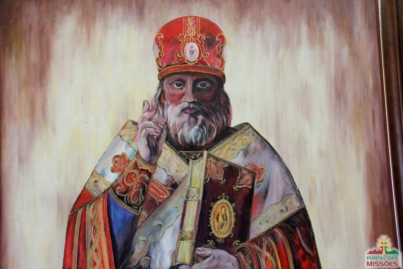 c4b46083e097 Santo São Nicolau. Dia 06 de dezembro é seu dia. Ficou conhecido por sua  caridade e afinidade com as crianças.