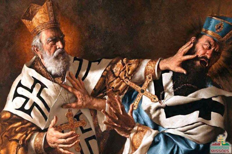 4ca5c74ca Santo São Nicolau. Dia 06 de dezembro é seu dia. Ficou conhecido por sua  caridade e afinidade com as crianças. Devido à sua imensa generosidade e  aos ...