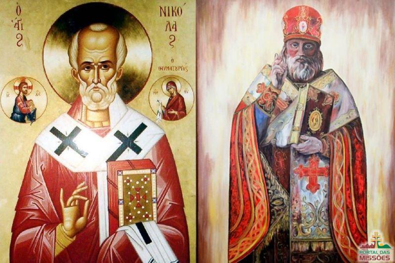 0f905f3df Devido à sua imensa generosidade e aos milagres que lhe foram atribuídos,  foi santificado pela Igreja ...