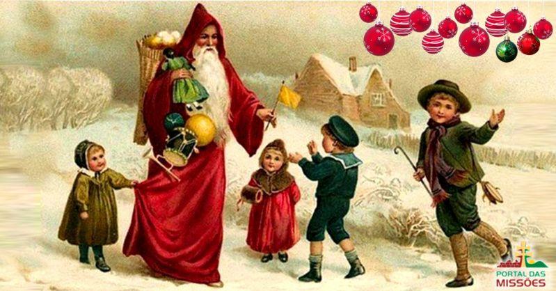 04d0c0ba867c Santo São Nicolau origem do Papai Noel. Ficou conhecido por sua caridade e  afinidade com as crianças.