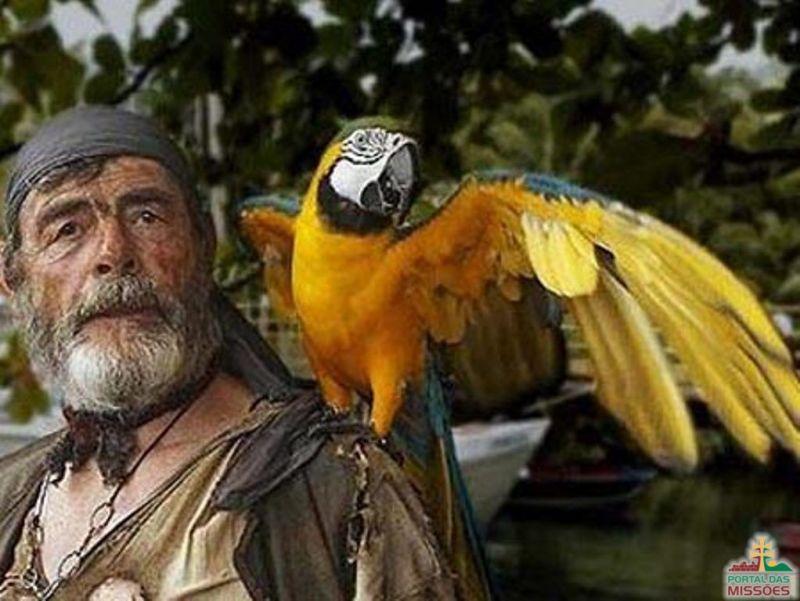 Resultado de imagem para papagaio de pirata